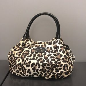 Kate spade Leopard print handbag
